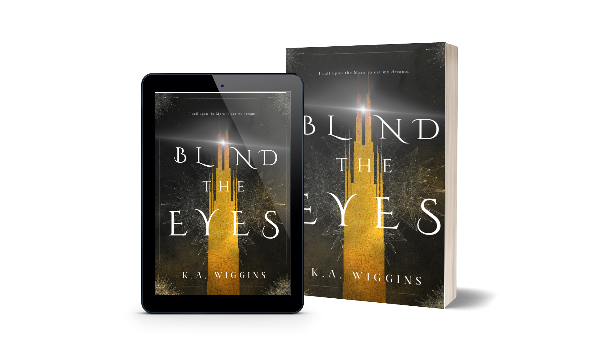 shop Blind the Eyes YA dystopian dark fantasy by K.A. Wiggins