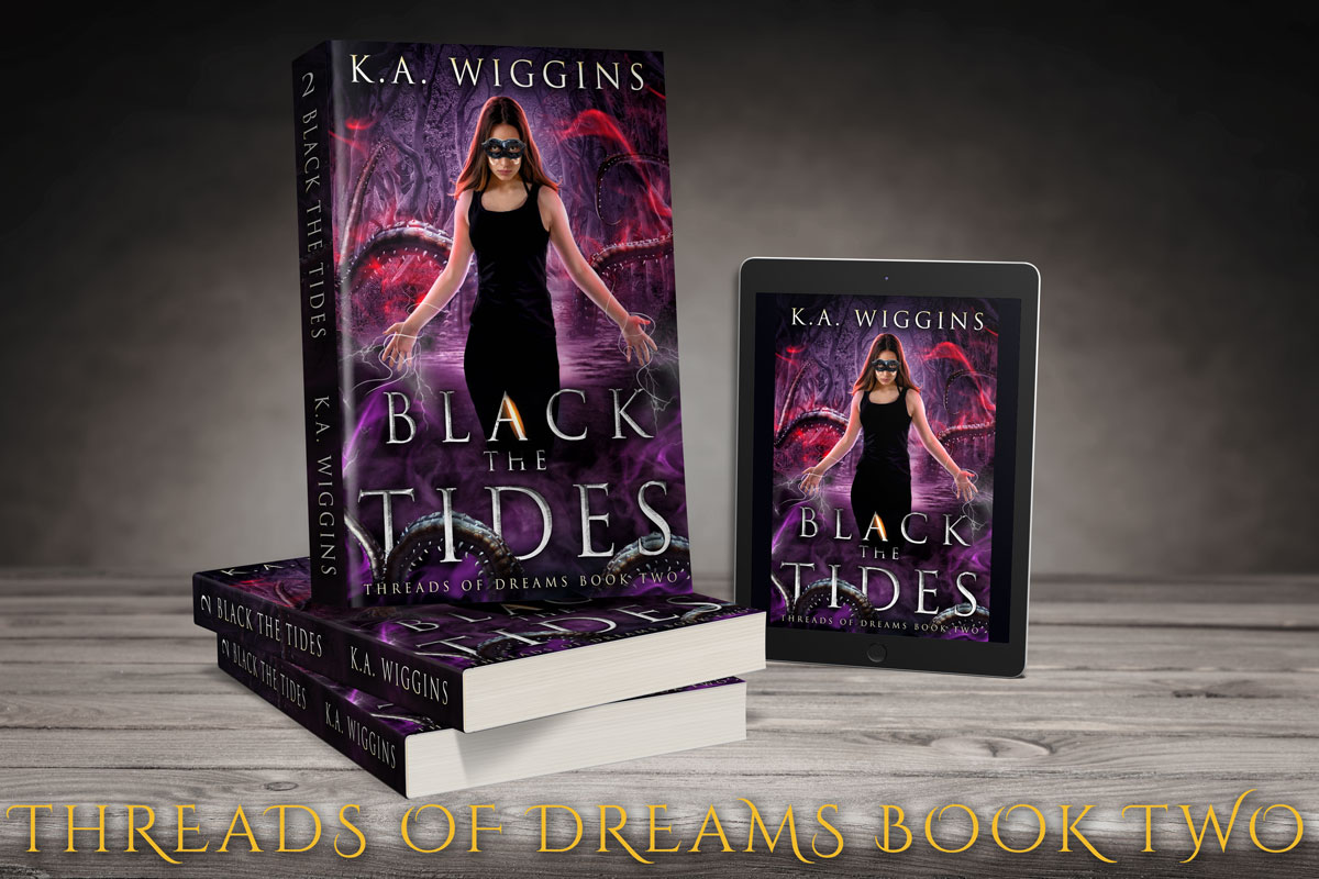 shop Black the Tides by K.A. Wiggins
