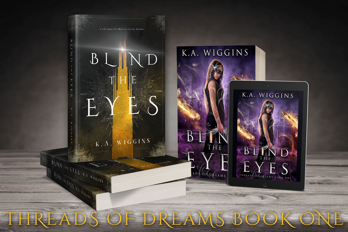 shop Blind the Eyes second edition by K.A. Wiggins